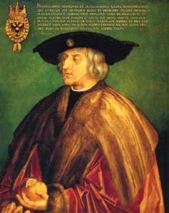 Durer Maximilian I 1518 BR