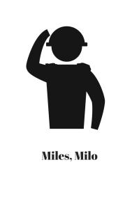 Miles, Milo